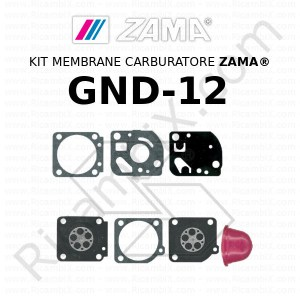 Kit membrane carburatore ZAMA® GND-12