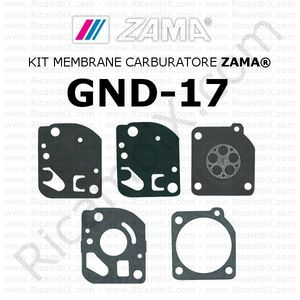Kit membrane carburatore ZAMA® GND-17