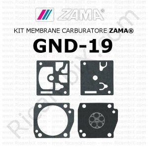 Kit membrane carburatore ZAMA® GND-19