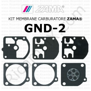 Kit membrane carburatore ZAMA® GND-2