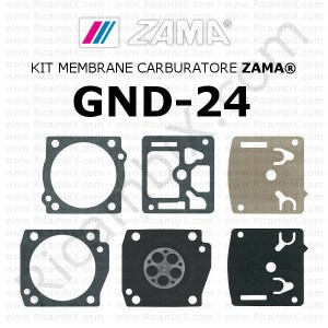Kit membrane carburatore ZAMA® GND-24