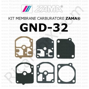 Kit membrane carburatore ZAMA® GND-32