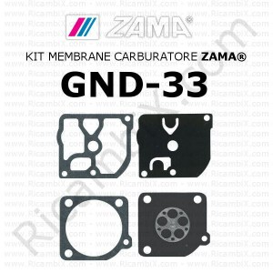 Kit membrane carburatore ZAMA® GND-33