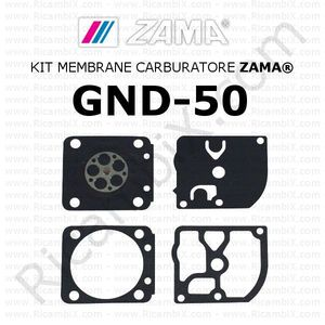 Kit membrane carburatore ZAMA® GND-50